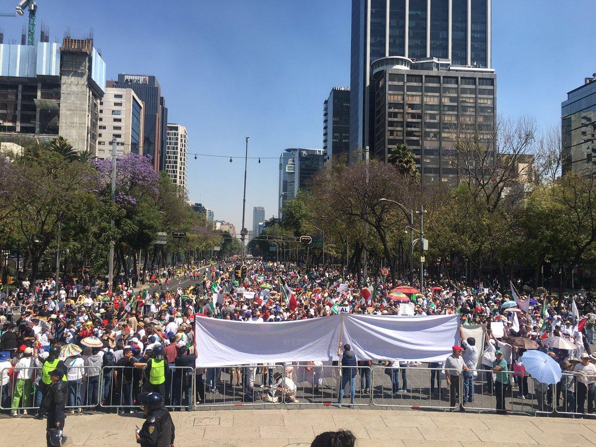 Estas son las marchas para hoy martes 19 de junio 2018 en la CDMX ¡Toma precauciones!