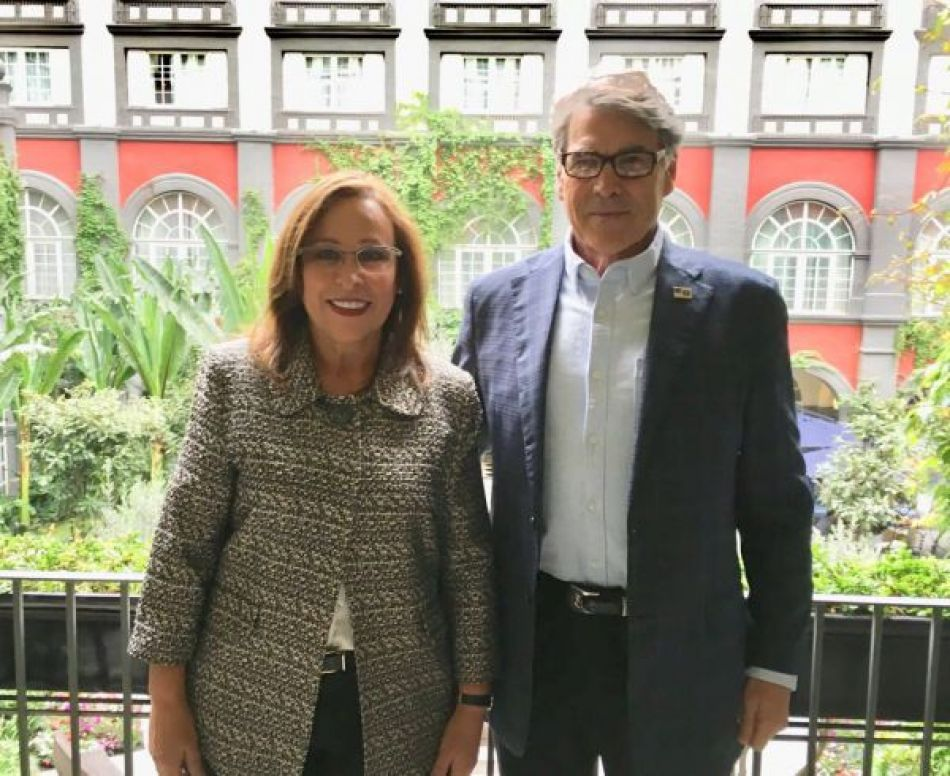 Se prepara transición en sector energético: Rocío Nahle