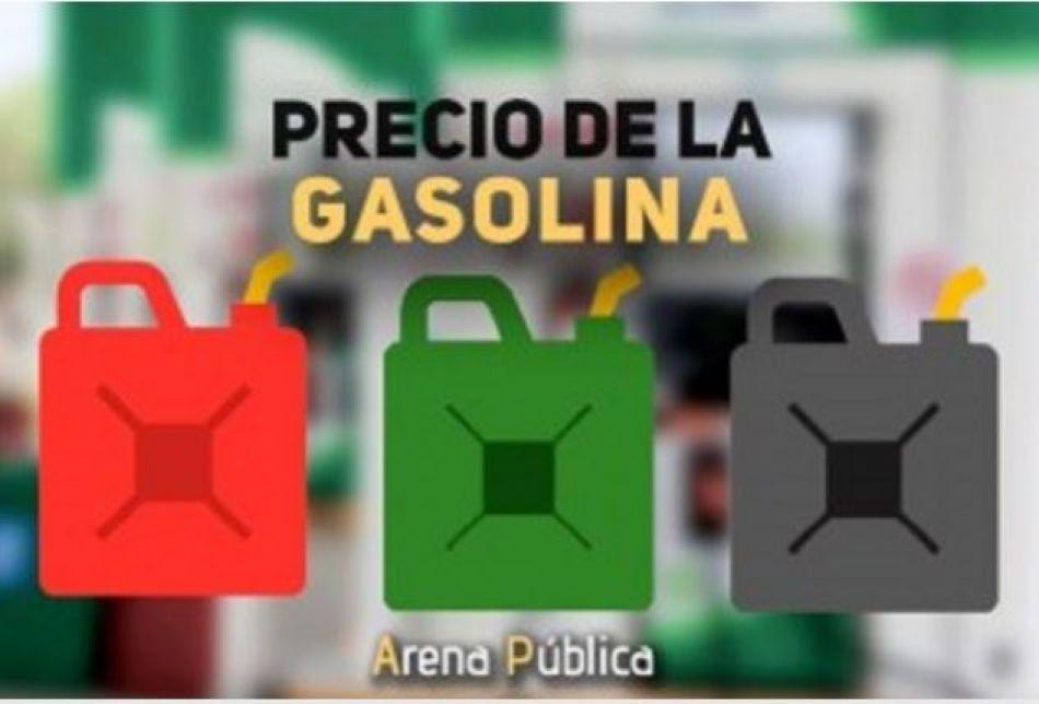 Precio de la gasolina en México hoy lunes 19 de noviembre